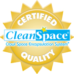 CleanSpace® crawlspace company seal Certified Quality