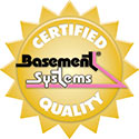 Basement Systems Certified Quality