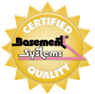 Basement Systems company seal Certified Quality